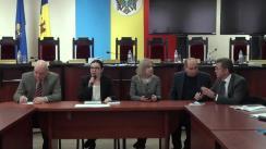 Întâlnirea Comisiei Electorale Centrale cu concurenții electorali la alegerile parlamentare din 24 februarie curent în circumscripția națională și reprezentanții misiunilor de observatori acreditate