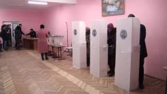 Alegeri 2019: Exprimarea votului de către președintele Partidului Liberal, Dorin Chirtoacă