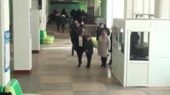 Alegeri 2019: Exprimarea votului de către candidatul PSRM în circumscripția nr. 30, Petru Burduja