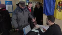 Alegeri 2019: Exprimarea votului de către candidatul PSRM în circumscripția nr. 27, Radu Mudreac