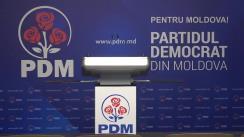Alegeri 2019: Briefing de presă susținut de șeful staff-ului electoral al PDM, Vladimir Cebotari
