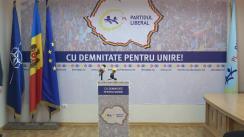 Briefing de presă organizat de Partidul Liberal privind rezultatele alegerilor parlamentare