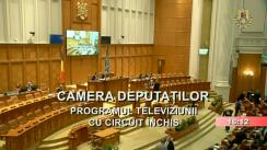 Ședința în plen a Camerei Deputaților României din 25 februarie 2019