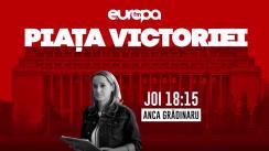 Piața Victoriei cu Moise Guran, Cristian Tudor Popescu și Anca Simina: Protest fără precedent al magistraților împotriva OUG 7