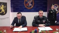 Semnarea unui Acord de colaborare între Centrul Național pentru Protecția Datelor cu Caracter Personal și Inspectoratul General al Poliție