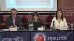 """Conferința de presă organizată de Coaliția Civică pentru Alegeri Libere și Corecte cu tema """"Prezentarea celui de-al cincilea Raport de monitorizare mass-media în campania electorală"""""""