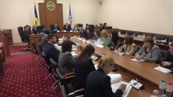 Ședința Curții de Conturi de examinare a Raportului auditului situațiilor financiare ale comunei Cruzești și orașului Durlești la 31 decembrie 2017