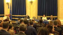 Ședința de prezentare a Raportului de activitate a Ministerului Public pe anul 2018