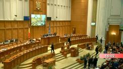 Ședința comună a Camerei Deputaților și Senatului României din 27 februarie 2019