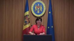Declarațiile Silviei Radu după ședința Guvernului Republicii Moldova din 27 februarie 2019
