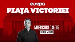 Piața Victoriei, cu Tudor Mușat | Dacian Cioloș și Dan Barna, despre cum se raportează Alianța 2020 la crizele social-politice