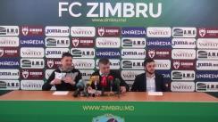 Conferință de presă dedicată începutului unui nou sezon fotbalistic în Republica Moldova, precum și strategiei de lucru a clubului Zimbru în anul 2019