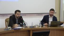Audieri publice pentru Chișinău pe subiectul reformei administrației publice a mun. Chișinău