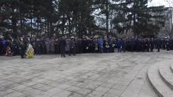Mitingul de comemorare a eroilor căzuți în acțiunile de luptă pentru apărarea integrității teritoriale și independenței Republicii Moldova