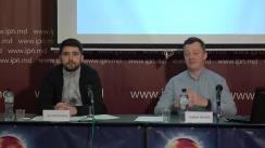 """Conferință de presă cu tema """"330 de gherete în Chișinău de două luni vând ilegal produse din tutun"""""""