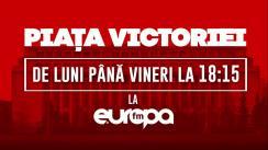 Piața Victoriei | Oferta partidelor pentru europarlamentare. Aveți cu cine vota?
