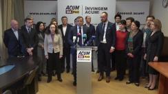 """Conferință de presă organizată de blocul ACUM DA PAS cu tema """"Fraudele electorale care denotă că alegerile nu au fost nici libere, nici corecte"""""""