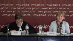 """Conferința de presă susținută de cetățeana Maria Olar cu tema """"Avocați corupți"""""""