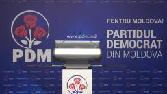 Briefing de presă susținut de președintele Partidului Democrat din Moldova, Vlad Plahotniuc