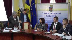 Ședința săptămânală a serviciilor primăriei Chișinău din 11 martie 2019