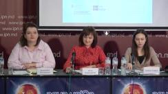 """Conferința de presă organizată de Centrul Parteneriat pentru Dezvoltare cu tema """"Lansarea Indexului Egalității de Gen"""""""