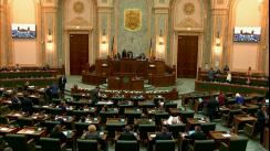 Ședința în plen a Senatului României din 11 martie 2019