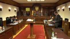 Ședința Curții Constituționale privind confirmarea rezultatelor alegerilor parlamentare din 24 februarie 2019 și validarea mandatelor deputaților aleși