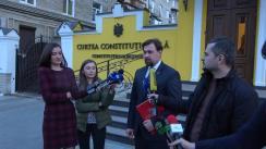 Declarații lui Maxim Lebedinschi după hotărârea Curții Constituționale privind confirmarea rezultatelor alegerilor parlamentare din 24 februarie 2019