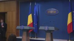 Conferință de presă după ședința Guvernului României din 12 martie 2019