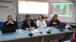 """Ședința Clubului Jurnaliștilor de Investigație cu tema """"Dosarul celei mai mari rețele de abuzatori de copii: Justiția din Republica Moldova vizavi de Justiția din Grecia"""""""
