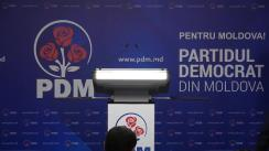 Briefing de presă după ședința Consiliului Executiv al Partidului Democrat din Moldova