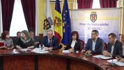 Ședința săptămânală a serviciilor primăriei Chișinău din 18 martie 2019
