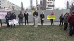 Conferință de presă susținută de deputatul ales pe circumscripția nr. 27, Bolea Vladimir, și Organizația Locală Buiucani a PAS, în legătură cu construcțiile ilegale din municipiul Chișinău