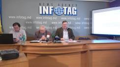 """Conferință de presă organizată de Asociația Sociologilor și Demografilor din Republica Moldova cu tema """"Opțiunile socio-politice ale cetățenilor din Unitatea Teritorială Autonomă Găgăuzia în preajma alegerilor bașcanului"""""""