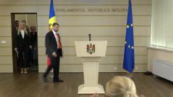 Briefing de presă susținut de deputații aleși pe listele Partidului Politic Șor