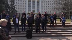 Protest organizat de Blocul ACUM de apărare a justiției