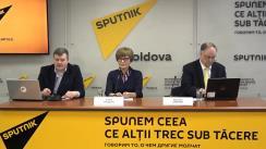 """Conferința de presă cu tema """"Vremea și clima: particularitățile primăverii și verii anului 2019 în Moldova"""""""