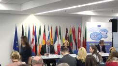 """Conferința cu tema """"Semestrul european: Raportul de țară pentru România 2019"""""""