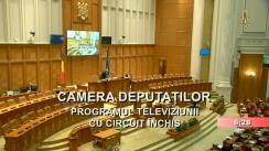 Ședința în plen a Camerei Deputaților României din 27 martie 2019