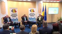 """Dezbaterea privind """"Viitorul orașelor românești în contextul european al conceptului de dezvoltare locală"""", organizată de Asociația Orașelor din România"""