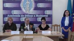 Conferința de presă susținută de președintele Comisiei pentru alegerea președintelui Academiei de Științe a Moldovei