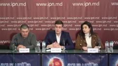 """Conferința de presă organizată de Avocatul Cebotari Andrei cu tema """"Justiție selectivă. Închisoare pentru neachitarea poliței medicale vs. închisoare cu suspendare pentru membrii unui grup criminal organizat"""""""