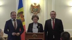 Declarația reprezentanților PSRM după întrevederea cu Președintele Republicii Moldova, Igor Dodon, în vederea creării unei majorități parlamentare