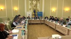 """Evenimentul de lansare a proiectului """"Perspectivele medierii și arbitrajului comercial în Republica Moldova"""""""