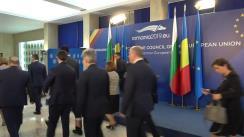 Declarații de presă susținute de prim-ministrul României, Viorica Dăncilă, și prim-ministrul Republicii Bulgaria, Boyko Borissov
