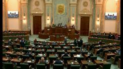 Ședința în plen a Senatului României din 1 aprilie 2019