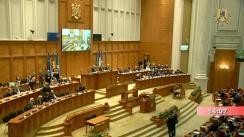 Ședința comună solemnă a Camerei Deputaților și Senatului pentru marcarea a 15 ani de la aderarea României la Alianța Nord-Atlantică și a 70 de ani de existență a NATO