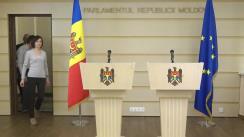 """Conferință de presă susținută de deputații Blocului politic """"ACUM Platforma DA și PAS"""""""