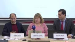 """Prezentarea rezultatelor investigației jurnalistice pe subiectul """"Producția de criptomenede în regiunea trasnistreană: subiecții și beneficiarii implicați"""""""