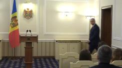 Declarații de presă susținute de Președintele Republicii Moldova, Igor Dodon